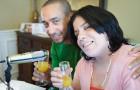 DJ Marysoul and DJ Jose from Salsa Warriors live show from Cynthia Rosario Casa 12-28-2014